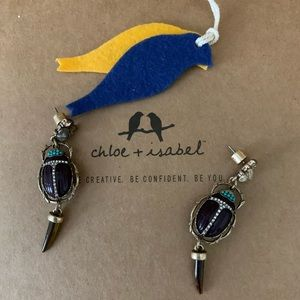 Chloe + Isabel Wild Earth Drop Earrings.